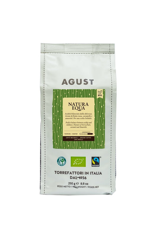 Natura Equa Coffee ground, 250g, Organic and Fairtrade - Annie's Farm Produce