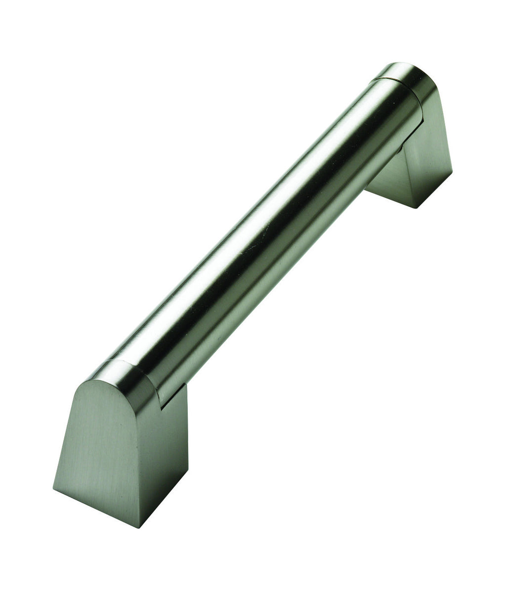 Angled Boss Handle Stainless Steel