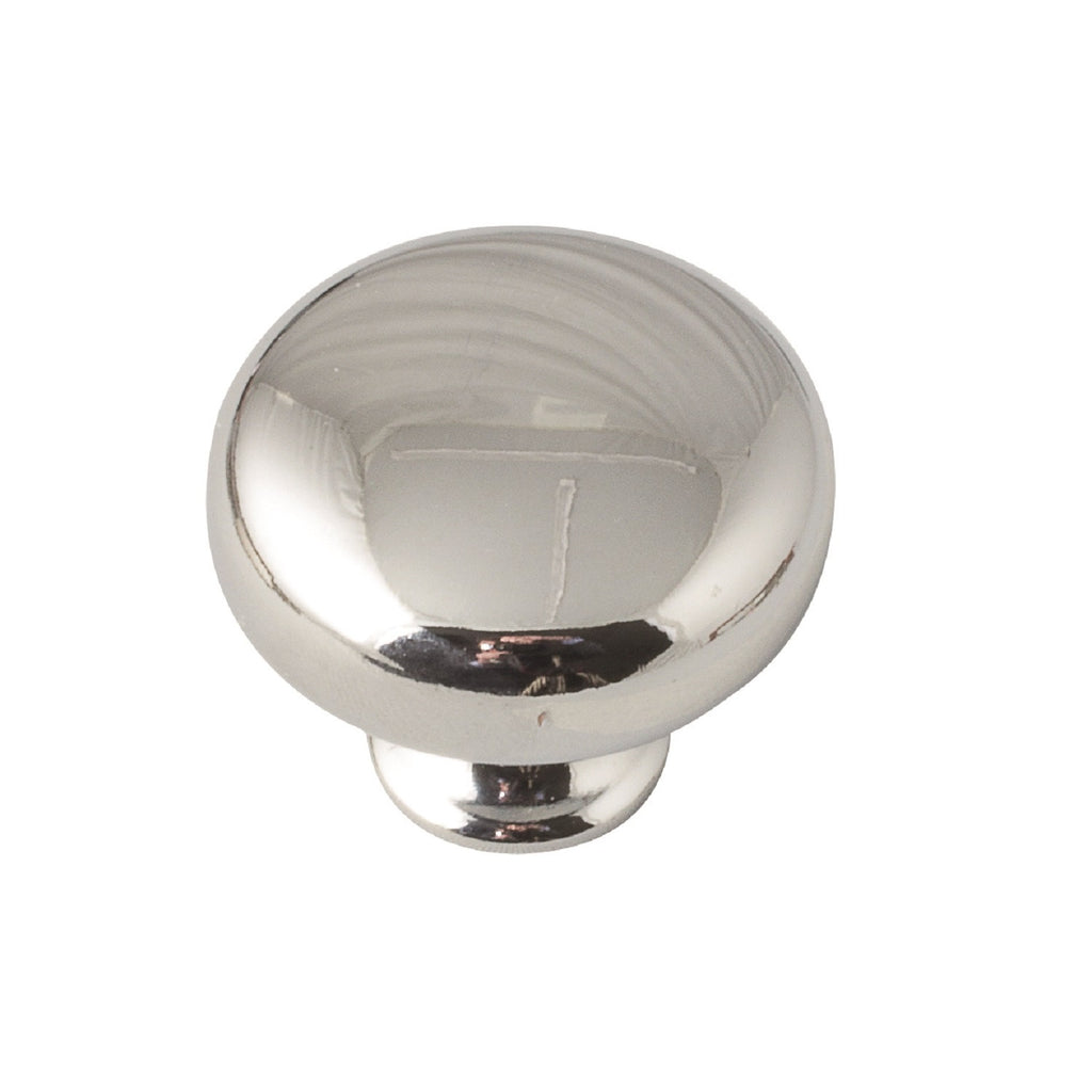 Button Knob Handle Chrome