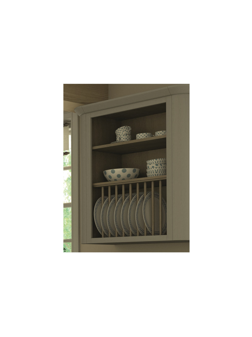 Wall Cabinet Open Frame Savoy