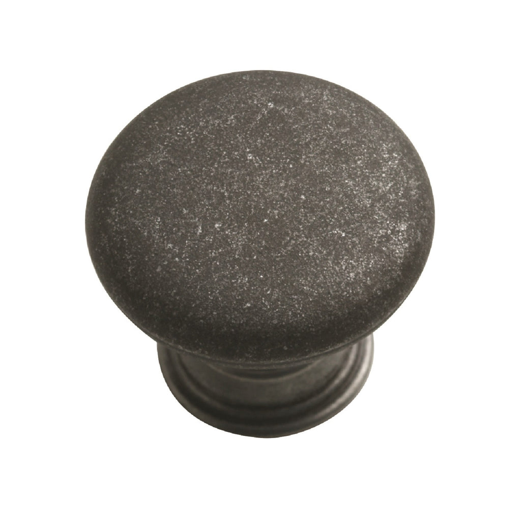 Forge Knob Handle Pewter