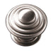Stepped Knob Handle Satin Chrome