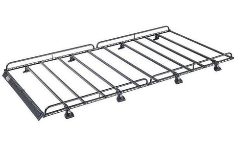 Cruz 907 Series N41-160 Roof Rack for Mercedes Sprinter L3 H2 2006, Volkswagen Crafter L3 H2 2006 - 2017