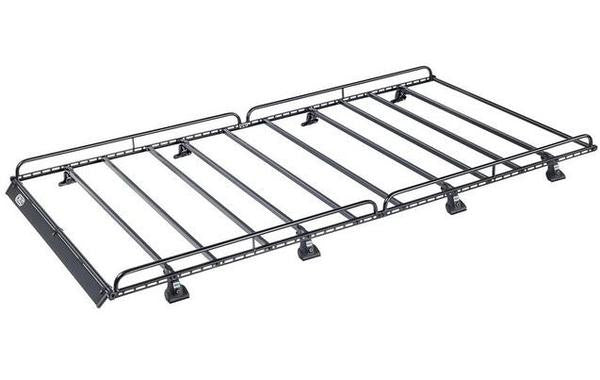 Cruz 907 Series N32-160 Roof Rack for Mercedes Sprinter L2 H1 2006, Mercedes Sprinter L2 H2 2006 on, Volkswagen Crafter 2006