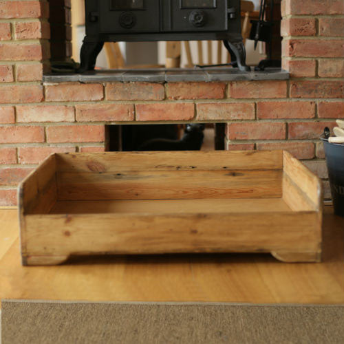 Hunt & Wilson Handmade Wooden Dog Bed