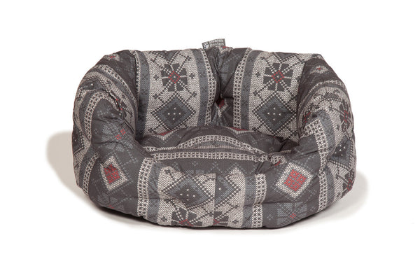 Danish Design Fairisle Deluxe Slumber Dog Bed