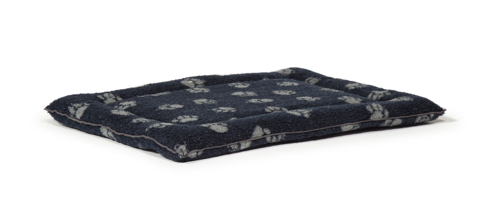 Danish Design Fleece Navy Dog Cage Mattress