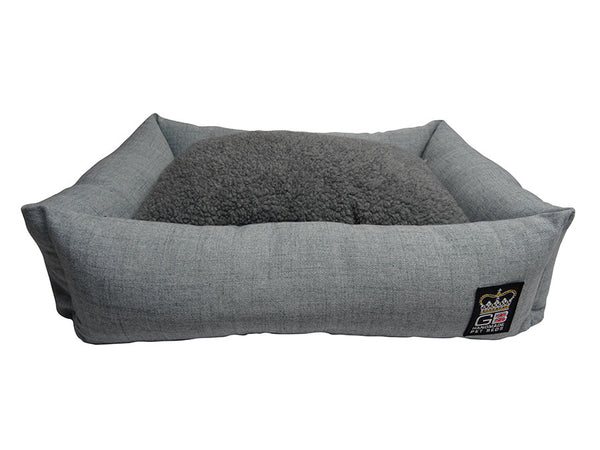 GB Pet Beds Bolster Settee Dog Snuggle Bed