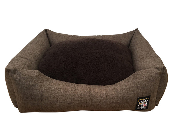 GB Pet Beds Dog Snuggle Bed Classic Settee