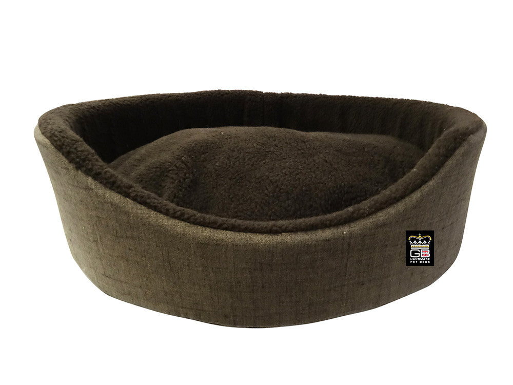 GB Pet Beds Dog Oval Foam Wall Basket