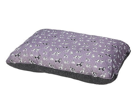House Of Paws Polka Dogs Cushion Bed