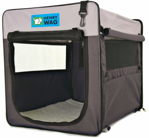 Henry Wag Fabric Dog Crate