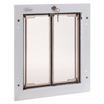 Plexidor UK Dog Doors Medium - Door Mount