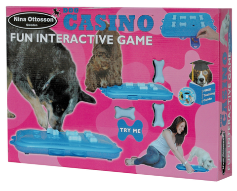 Nina Ottosson Plastic Dog Toy Casino