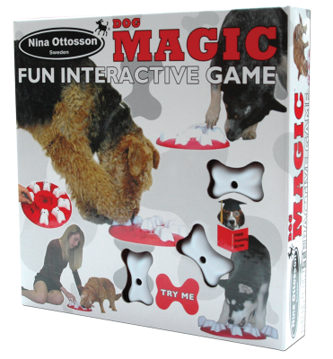 Nina Ottosson Plastic Dog Toy Magic