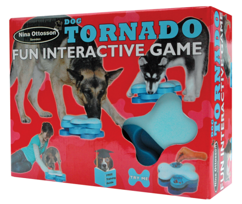 Nina Ottosson Plastic Dog Toy Tornado