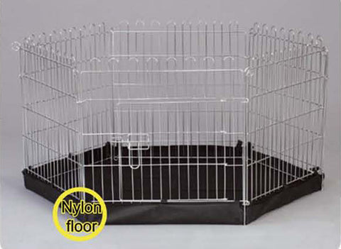 Henry Wag 6 Side Metal Pet Pen With Base