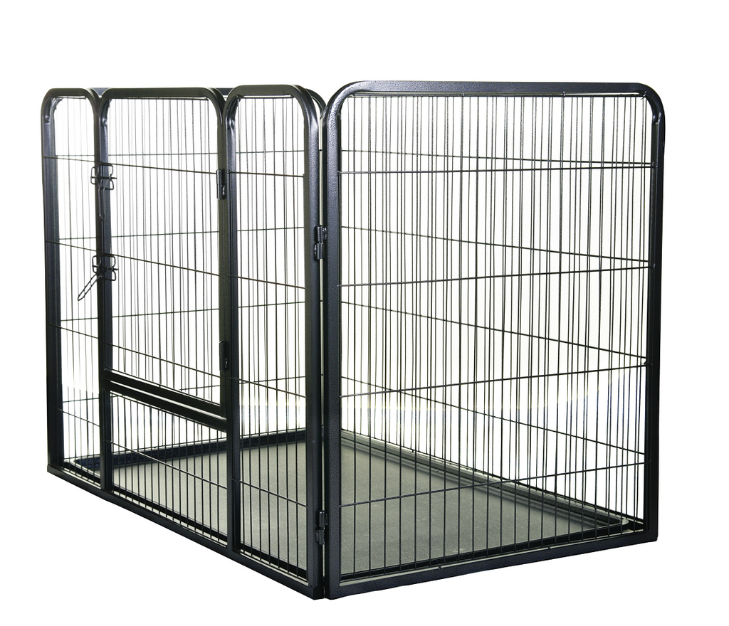 Henry Wag Metal Dog Playpen With Base