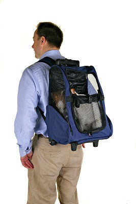 Henry Wag Dog Back Pack Carrier/Trolley