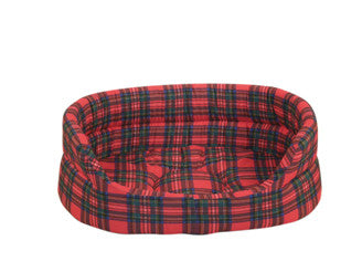 Danish Design Royal Stewart Tartan Slumber Dog Bed