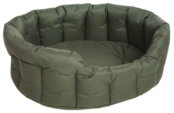 P&L Country Dog Heavy Duty Oval  Waterproof Softee Beds