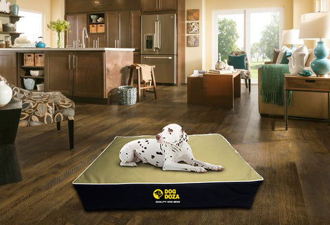 Dog Doza Waterproof Memory Foam Dog Mattress 15cm Thick