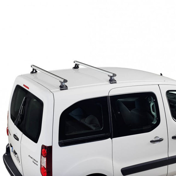 Cruz aliuminium roof bars for Ford Custom Tourneo L1 H1 2012, Ford Custom Tourneo L2 H1 2012, Ford Custom Transit 2013