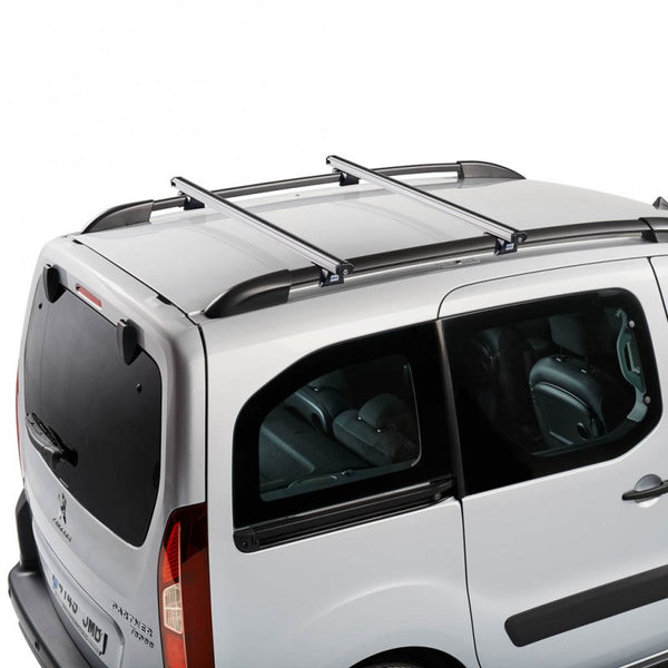 Cruz aliuminium roof bars for Citroen Berlingo 2008, Fiat Doblo Malibu 2000 - 2010, Fiat Doblo Panorama 2000 - 2015, Vauxhall Combo Tour 2001