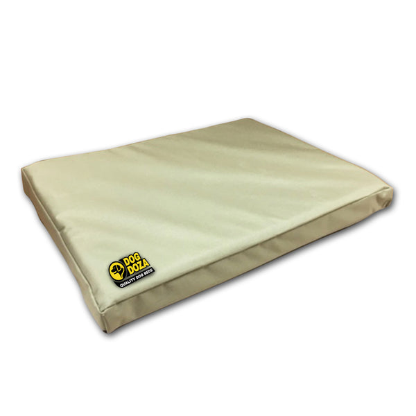 "Dog Doza - Waterproof Orthopaedic Memory Foam Slabs 7cm (3"") Thick 600 Denier Fabric + Inner Protective Cover is Also Water Resistant"