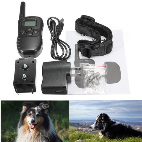 Electric Pet Dog Training Collar Shock Vibra