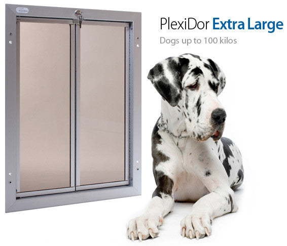 Plexidor UK Dog Doors  X-Large - Wall Mount