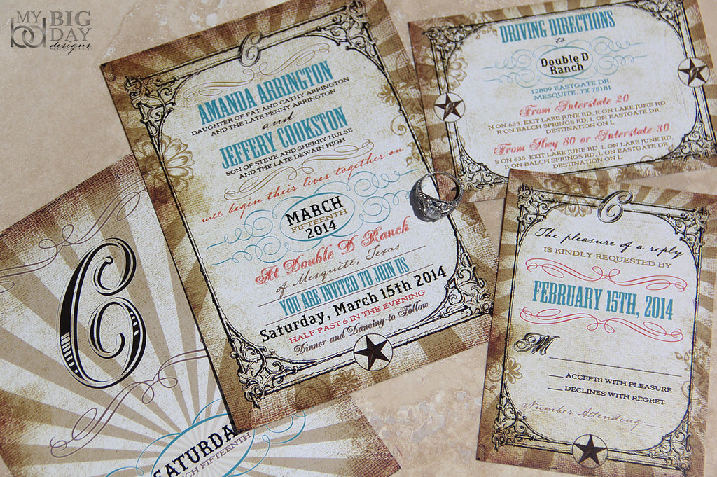 The Southern Belle Invitation Set