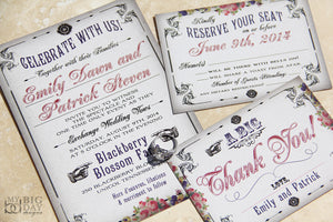 The Boardwalk Bride Invitation Set