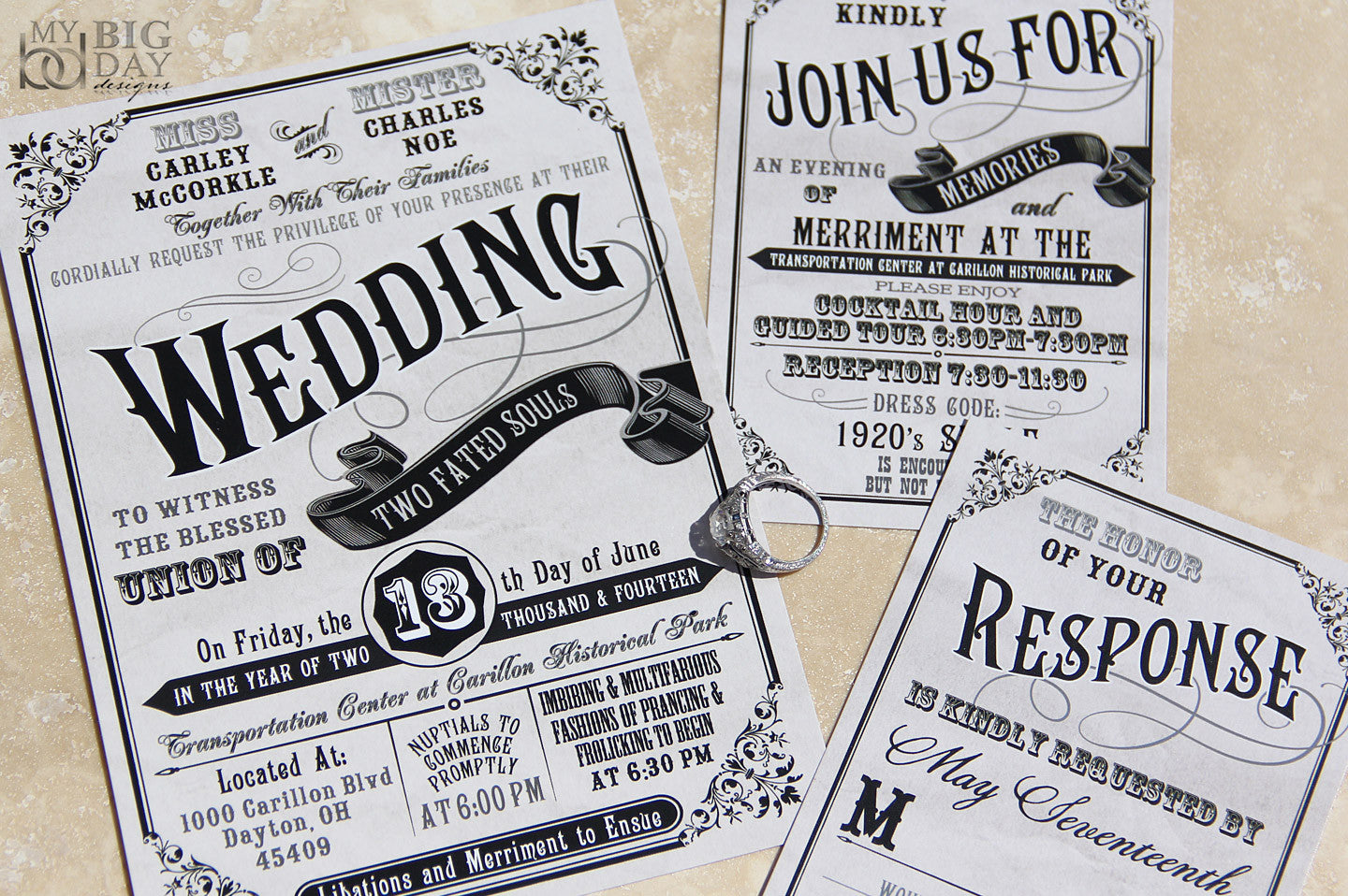 The Civil Union Invitation Set
