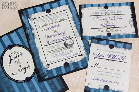Vintage Expressions Invitation Set