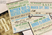 The Hatch Show Invitation Set