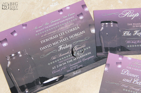 The Lovely Lanterns Invitation Set