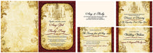 Lovely Laced Antiquity Invitation Set
