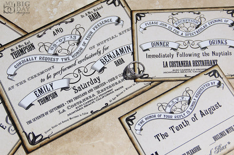 The Roaring 20's Invitation Set