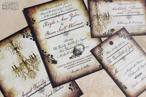 The Vintage Romance Invitation Set