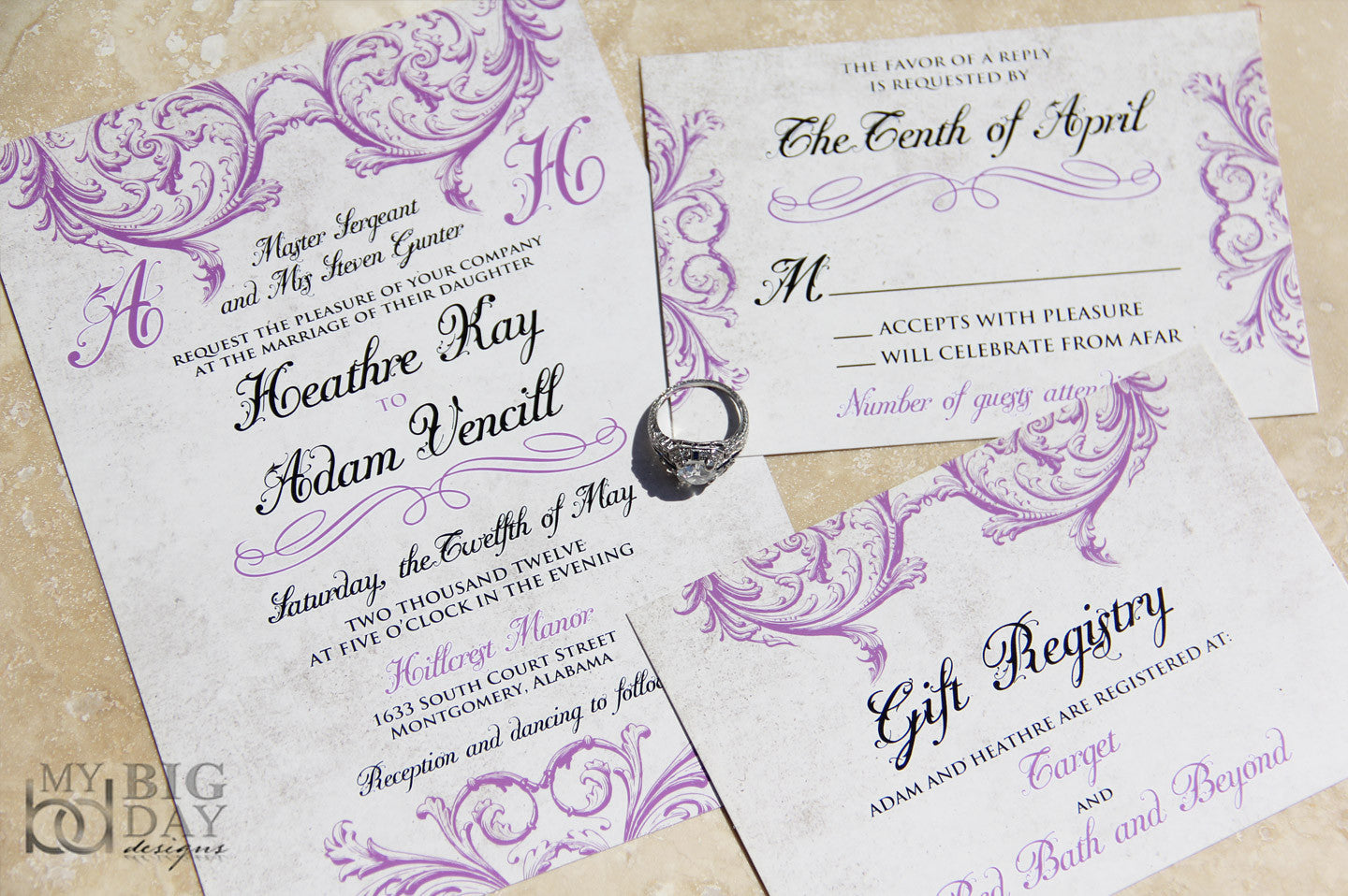 The Victorian Affair Invitation Set