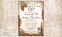 Vintage Vinyard Invitation Set