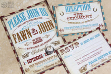 Vaudeville Extravaganza Invitation Set
