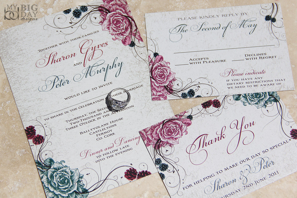 The Splendid Garden Invitation Set