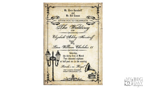 The New Orleans Wedding Invitation Set