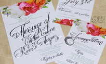 Flourishing Bouquet Invitation Set