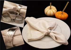 Napkin Coin Ring Holders