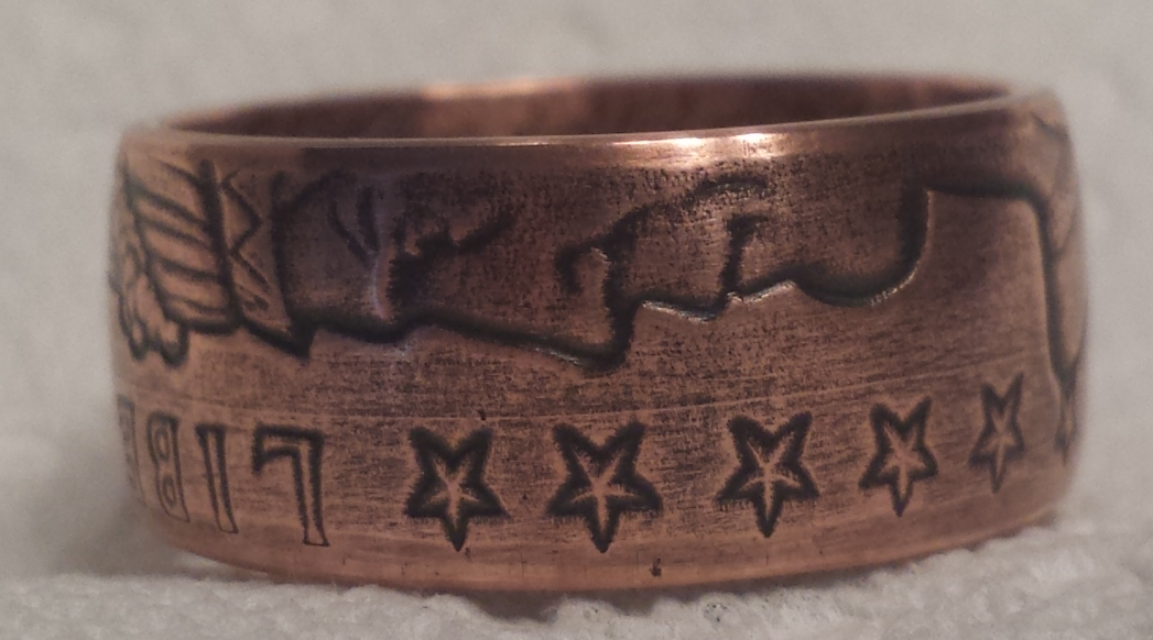 1/2 Oz. Incuse Indian Copper Rings