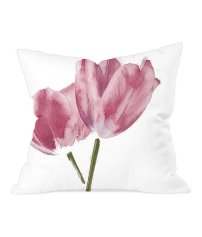 Throw Cushion tulips