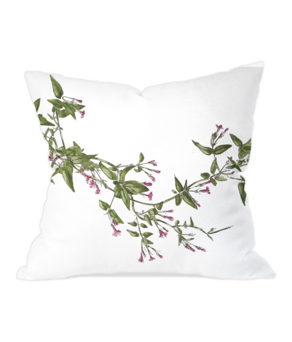 Throw Cushion Pink Jasmine